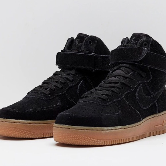 nike air force 1 suede high top